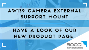 Boggi AW139 camera external mount
