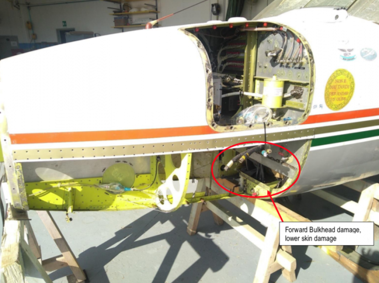 Structural repair of Piper Aerostar PA60-601P nose - fuselage