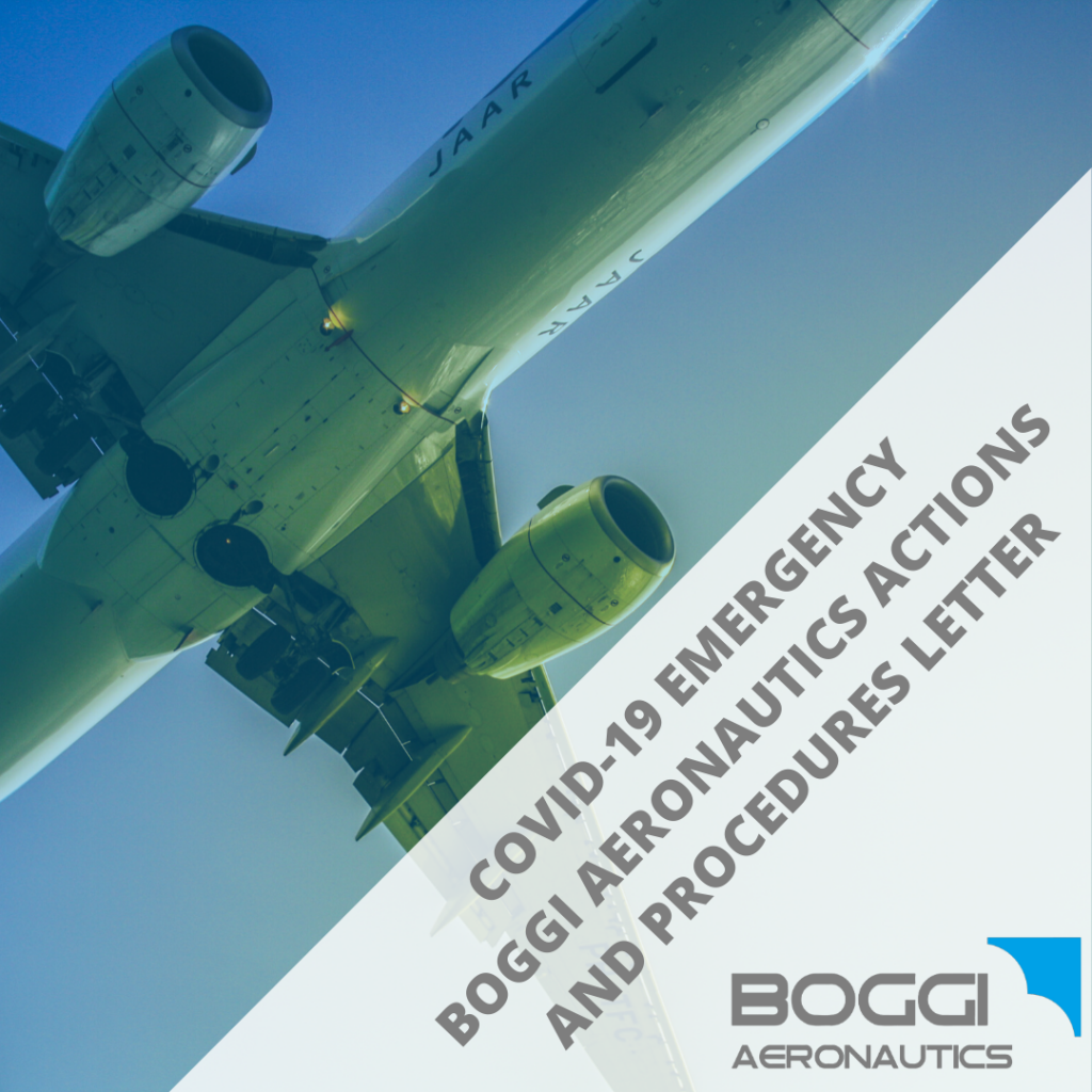 COVID-19 Emergency _ Actions and procedures Boggi Aeronautics