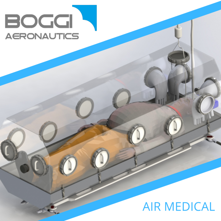 avio-cocoon Boggi Aeronautics covid-19 aviation isolation system