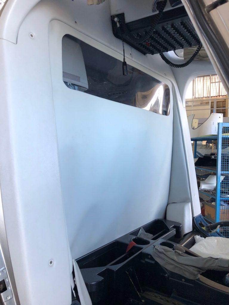 COVID-19 cabin crew divider cockpit divider
