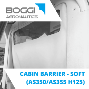 cabin barrier for helicopter Airbus AS350 AS355 H125