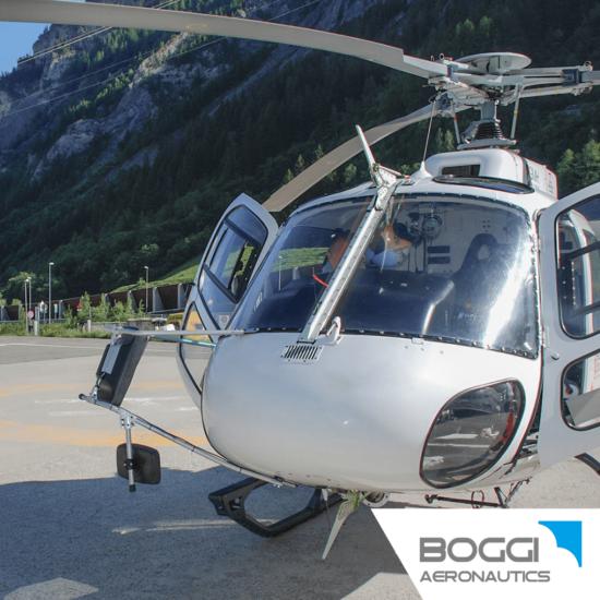 Boggi Aeronautics _ AS350 AS355 H125 dual cargo mirror right and left