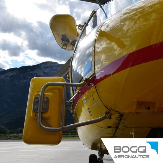 Boggi Aeronautics _ AS365 rear view cargo mirror Airbus Helicopters AS365 Dauphin
