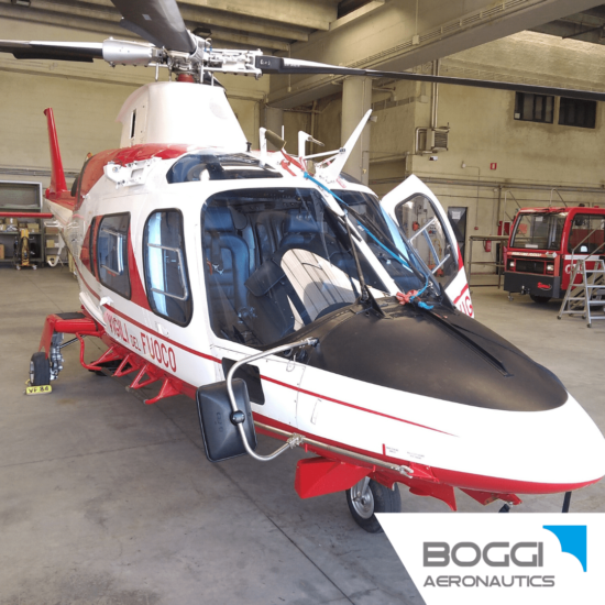 Boggi Aeronautics _ Leonardo Helicopters AW109 rear view cargo mirror