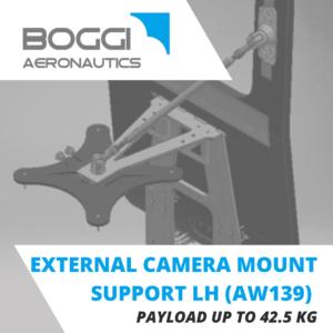 Boggi Aeronautics _ AW139 external camera mount LH payload 42,5 kg