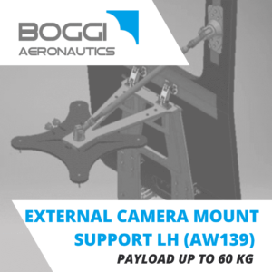 Boggi Aeronautics _ AW139 external camera mount LH payload 60 kg