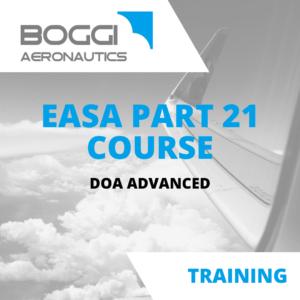 Boggi Aeronautics _ Aviation Training _ EASA Part21 course, DOA advanced