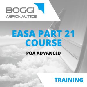 Boggi Aeronautics _ Aviation Training _ EASA Part21 course, POA advanced