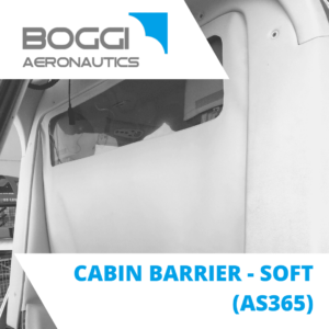 cabin barrier for helicopter Airbus AS365