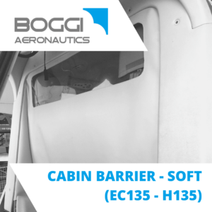 cabin barrier for helicopter Airbus EC135 H135