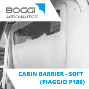 cabin barrier for aircraft Piaggio P180